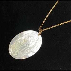 Translucent Guadalupe necklace